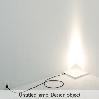 Untitled lamp